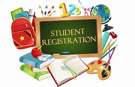 Student Registration Sign Clip ART
