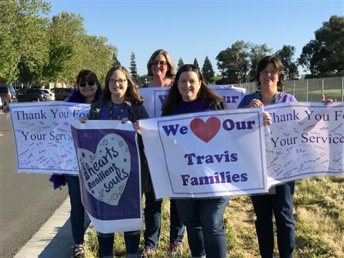 We love our Travis Families