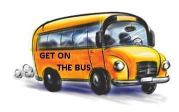 get on the buss