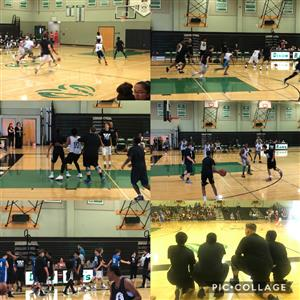 pictures of basketball game