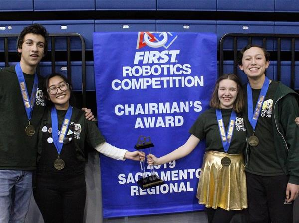 RoboVikes Win Chairman's Award