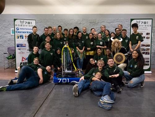 2019 RoboVikes Team