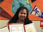 A Photo of Mrs. Soto - CSTEM Teacher of the Year