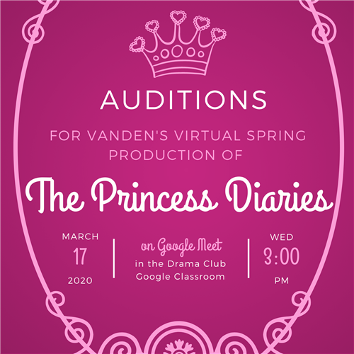 Auditions 3/17