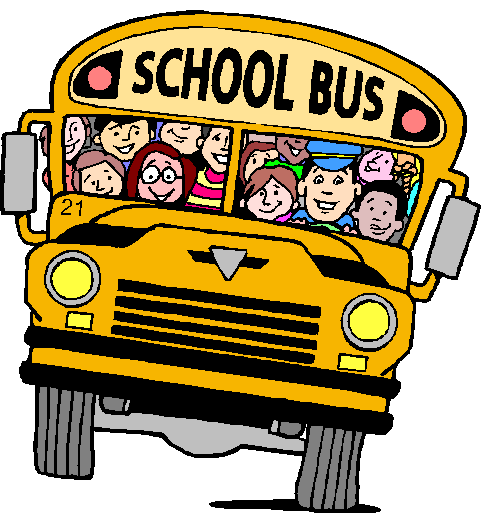 clipart image of a school bus